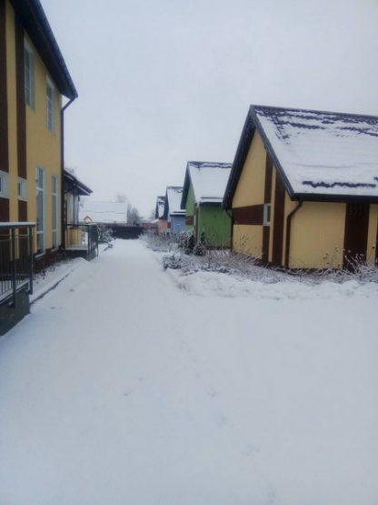 загородный отдых зимой